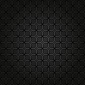 pic of octagon  - Geometric fine abstract  pattern with black octagons - JPG
