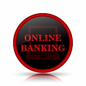 stock photo of internet-banking  - Online banking icon - JPG