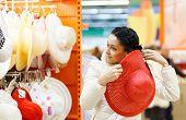 foto of shopping center  - Shopping Girl Portrait - JPG