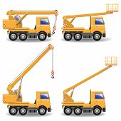 picture of construction machine  - Construction Machines Set 1 - JPG