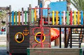 stock photo of playground school  - Playpen - JPG