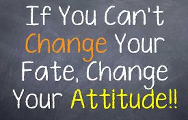 picture of you are awesome  - Motivational saying that you can change your attitude even if you can - JPG