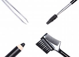 picture of eyebrows  - Accessories for care of the brows - JPG