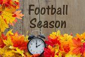 Time For Football Season poster