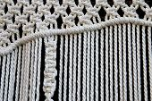 stock photo of macrame  - a close - JPG