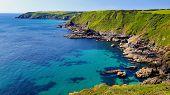 The Rugged Cornish Coastline On The Lizard Peninsula. poster