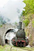 image of former yugoslavia  - steam locomotive  - JPG
