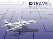 Travel Conceptual Illustration poster
