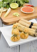 pic of lumpia  - Oriental Snacks  - JPG