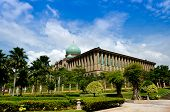 stock photo of prime-minister  - Malaysia Prime Minister Office from lateral view at Putrajaya Malaysia - JPG