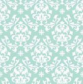 stock photo of symmetry  - Abstract floral seamless pattern background vector illustration - JPG