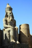 stock photo of ramses  - Ramses is the most well known pharaoh in Egypt