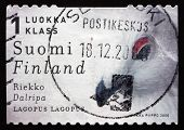 Postage Stamp Finland 2000 Willow Ptarmigan, Bird