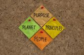 Purpose, People, Planet, Principles Maxim