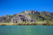 foto of dalyan  - Landscape of Dalyan river - JPG