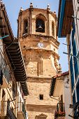 picture of basque country  - San Salvador church Getaria  - JPG