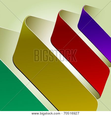 Index arrow vector poster