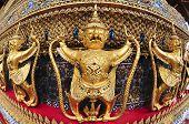 image of garuda  - The Garuda At The Emerald Buddha Temple - JPG