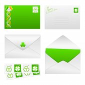 St. Patricks Day Set 1 - Envelopes