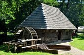 picture of sibiu  - sibiu romania ethno museum wood water mill - JPG