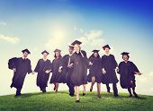 pic of graduation  - Students Graduation Success Achievement Celebration Happiness Concept - JPG