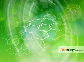 picture of biotechnology  - Ecology technology concept  - JPG