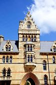 image of church-of-england  - Front facade of the Meadow building which is part of Christ Church College Oxford Oxfordshire England UK Western Europe - JPG