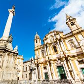 stock photo of domination  - Church of Saint Dominic in Palermo - JPG
