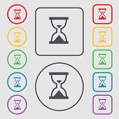 pic of sand timer  - Hourglass Sand timer icon sign - JPG