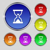 foto of sand timer  - Hourglass Sand timer icon sign - JPG