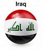 stock photo of iraq  - iraq official state flag - JPG
