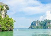 pic of kayak  - Kayaking In The Sea At Krabi - JPG