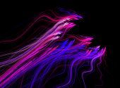 stock photo of ejacuation  - fractal abstract  - JPG