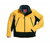 Yellow Softshell Jacket