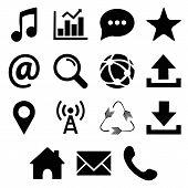 Web Icons Set. Signs. Popular Round Social Media Icons, Web And Mobile Icons. Web Icons Set. Web Or  poster