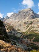 Great Cold Valley In Vysoke Tatry (high Tatras), Slovakia. The Great Cold Valley Is 7 Km Long Valley poster