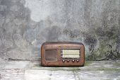 Old Radio From The Fifties