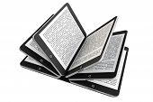 Tablet Pc As Book Pages