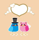 Birds Love Wedding
