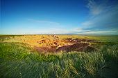 stock photo of prairie  - South Dakota Prairies  - JPG
