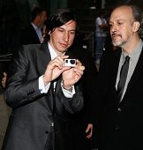 NEW YORK-SEP 27: Actor Adam Driver (L) and New York Film Festival Director of Programming & Selectio