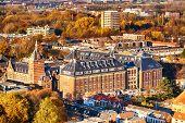 Постер, плакат: Delft The Netherlands In The Autumn