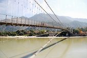 picture of gang  - The photo was taken at Ramjhula at Rishikesh - JPG