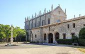 stock photo of carthusian  - Carthusian monastery Cartuja de miraflores monastery in Burgos Spain - JPG