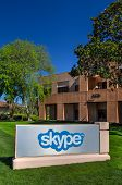 Skype Corporate Building In Silicon Valley