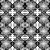 Design Monochrome Diamond Geometric Pattern. Abstract Diagonal Lattice Grid Background