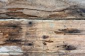 stock photo of shaky  - Old wooden plank board vintage background - JPG