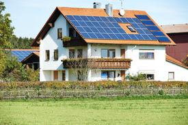 foto of solar battery  - Alternative energy - JPG