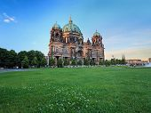 picture of dom  - Berlin Cathedral or Berlin Dom at Berlin Germany - JPG