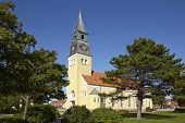 Постер, плакат: Skagen denmark Church